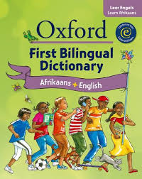 OXFORD FIRST BILINGUAL DICTIONARY AFRIKAANS+ENGLISH