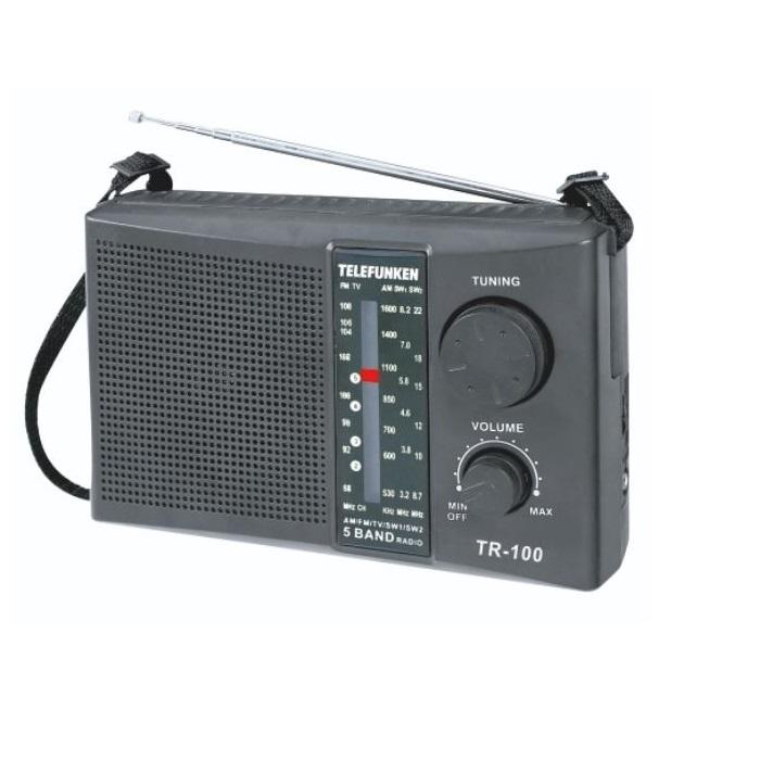 TELEFUNKEN 4 BAND PORTABLE RADIO TR-100