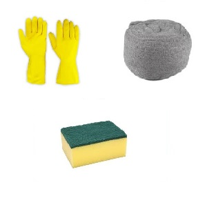 SCOURERS AND STEEL WOOL