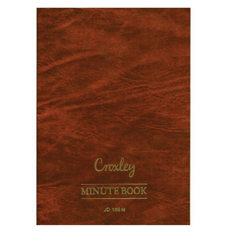 MINUTE BOOK JD168 2 QUIRE @ (Available On Order Only)