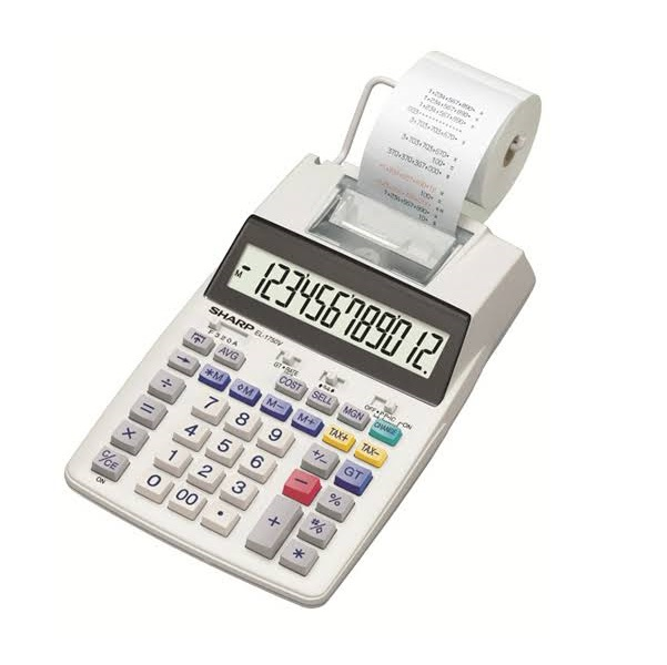 CALCULATOR EL-1750 PRINTER SHARP @ (Available On Order Only)