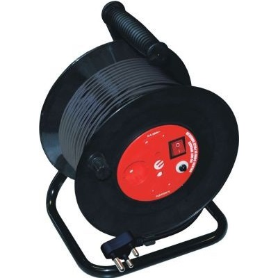 EXTENSION REEL 25M WITH SURGE @ (Available On Order Only)