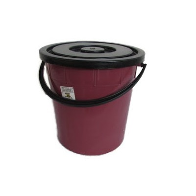 BUCKET WITH LID RECYCLED 20LT