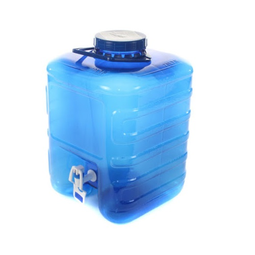 WATER CANNISTER WITH TAP 20LT