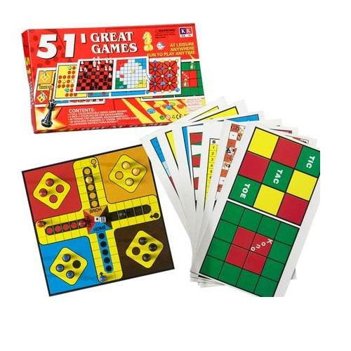 GAME COMPENDIUM 51 GAMES