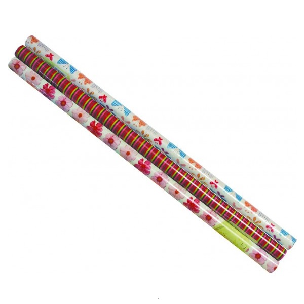 GIFT WRAP ASSORTED 1M X 700MM MARLIN