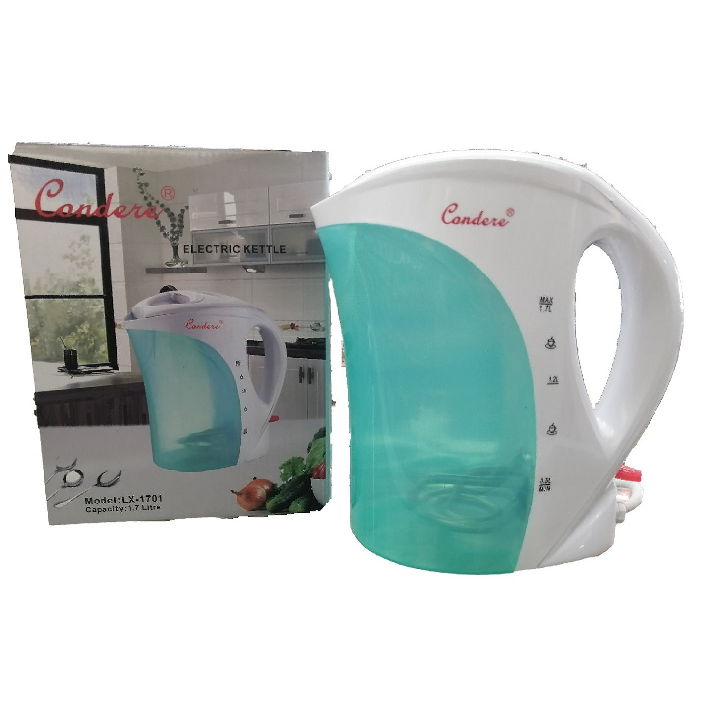KETTLE 17LT CONDERE CORDED