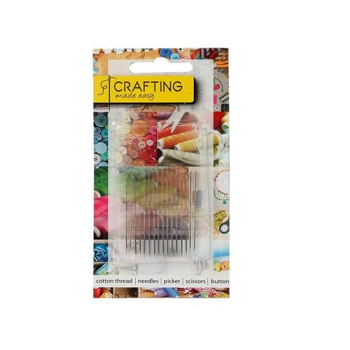 SEWING NEEDLES 16 PIECE ASSORTED