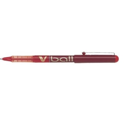 PEN PILOT VBALL 0.5MM RED @ (Available On Order Only)