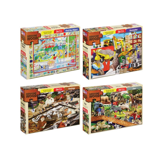 PUZZLE JIGSAW ASSORTED