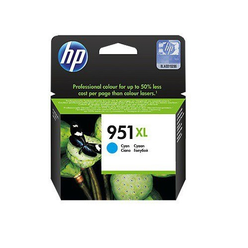 INK CART HP 951XL COLOUR CYAN ORIGINAL @ (Available On Order Only)