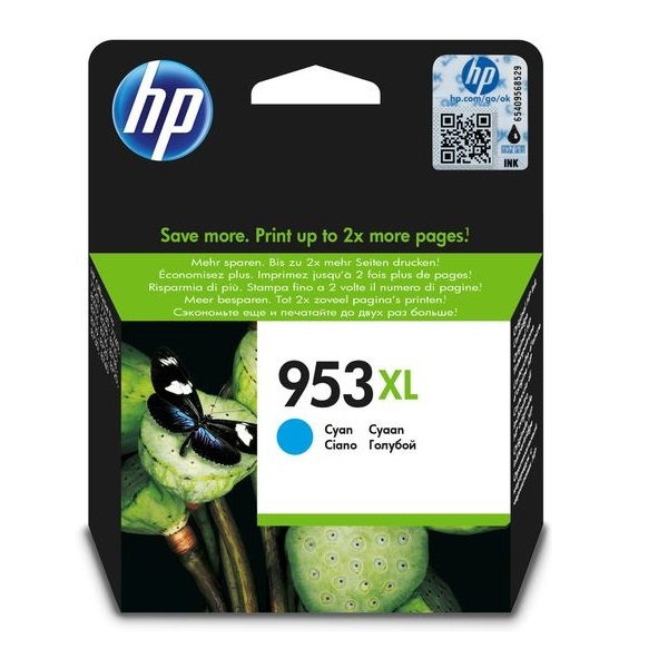 INK CART HP 953XL COLOUR CYAN ORIGINAL @ (Available On Order Only)