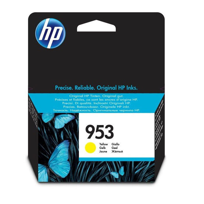 INK CARTRIDGE HP 953 COLOUR YELLOW ORIGINAL @ (Available On Order Only)