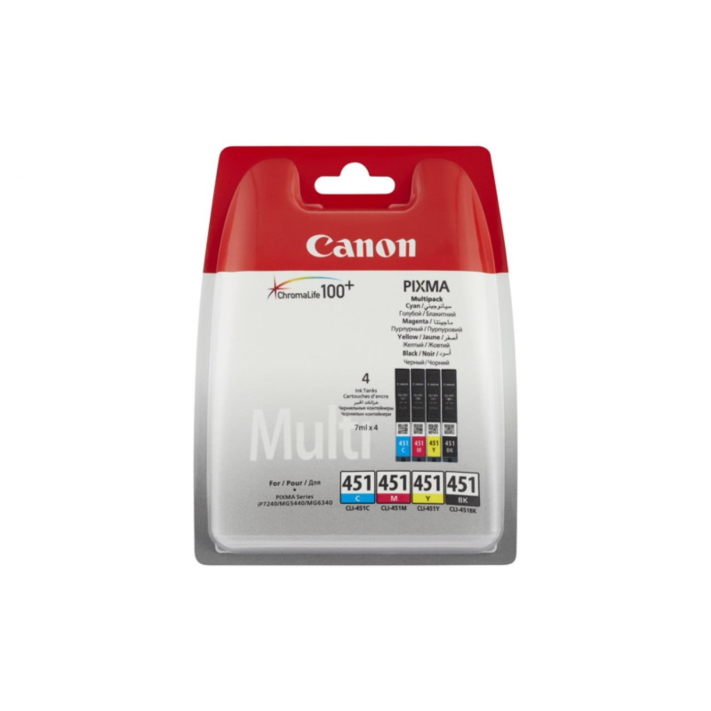 INK CART CANON CLI 451 MULTIPACK