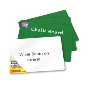 WHITEBOARD/CHALKBOARD DOUBLE SIDED A4