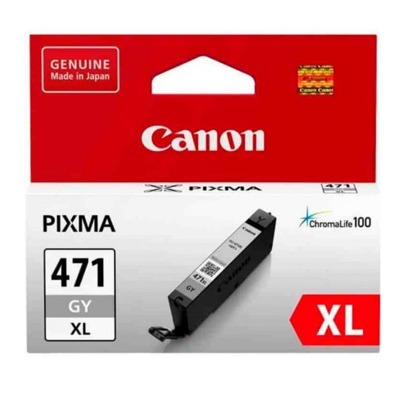 INK CART CANON 471XL ASSORTED COLOURS @ (Available On Order Only)