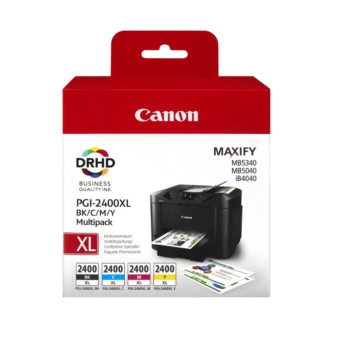 INK  CART CANON PGI-2400XL MULTIPACK @ (Available On Order Only)