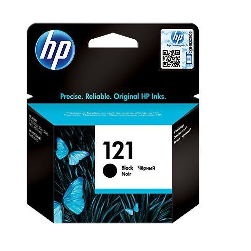 INK CART HP 121 BLACK ORIGINAL @ (Available On Order Only)