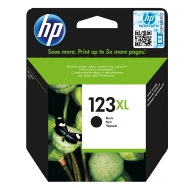 INK CART HP 123 BLACK XL ORIGINAL @ (Available On Order Only)