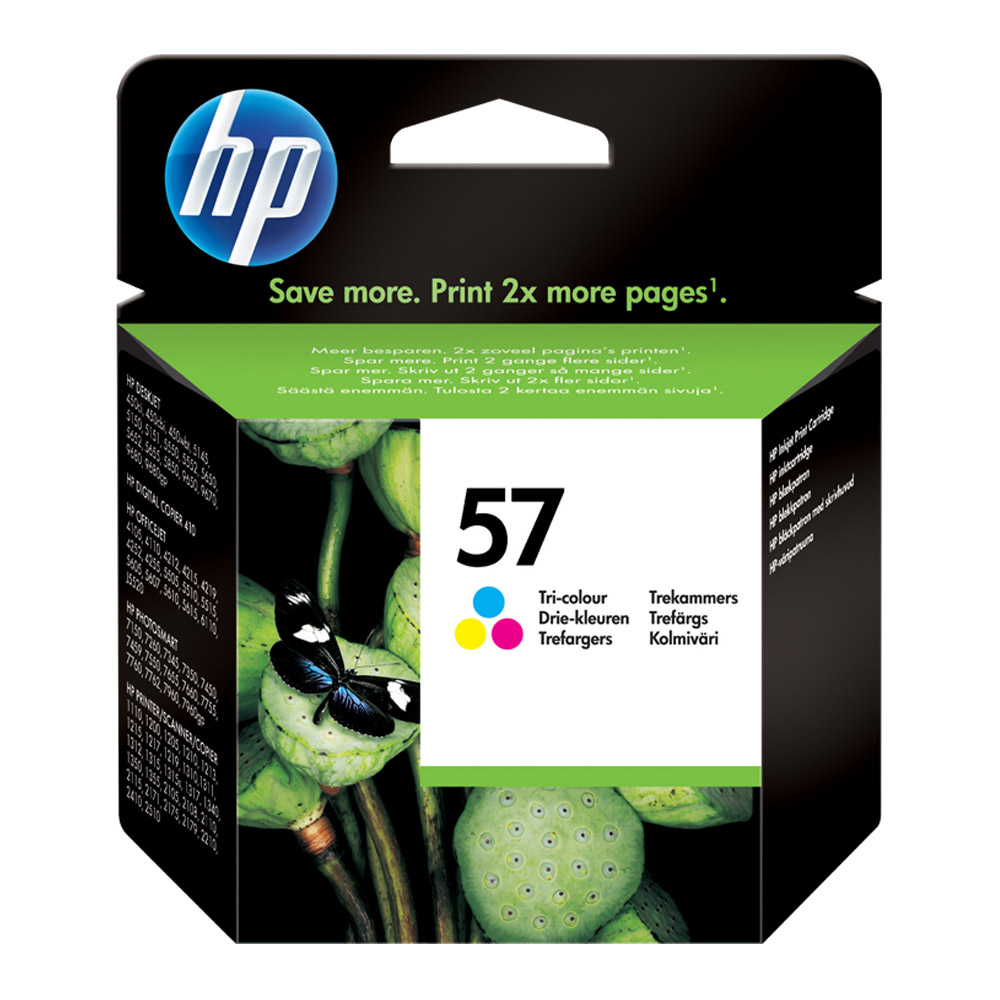 INK CART HP 57 TRI COLOUR ORIGINAL @ (Available On Order Only)