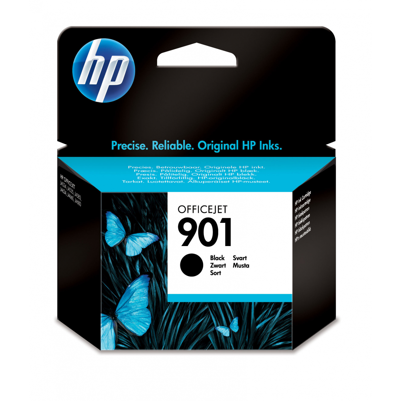 INK CART HP 901 BLACK ORIGINAL @ (Available On Order Only)
