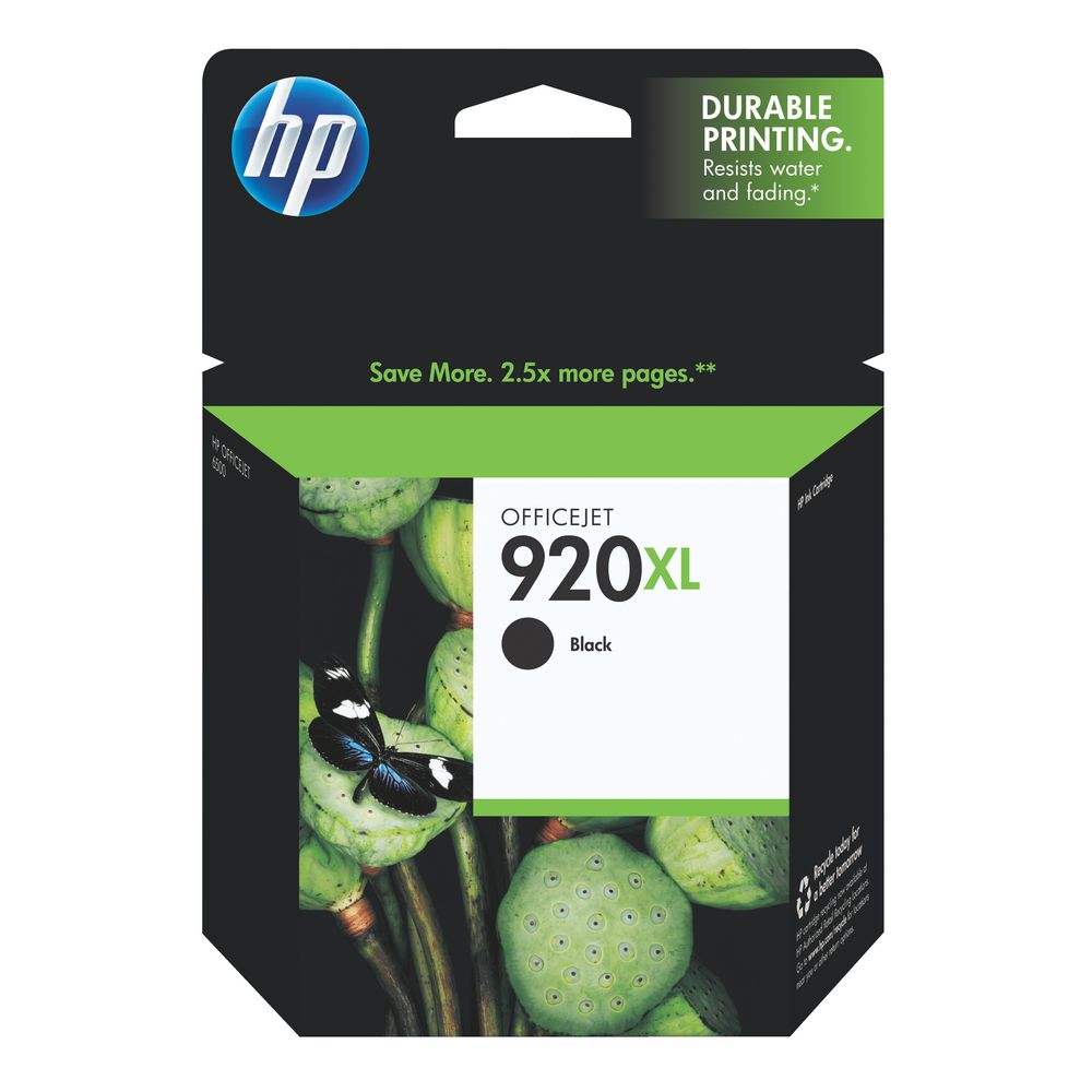 INK CART HP 920XL BLACK ORIGINAL @ (Available On Order Only)