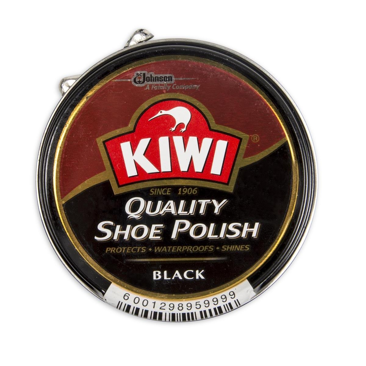 SHOE POLISH 50ML BLACK KIWI
