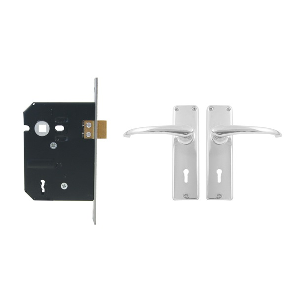 LOCKSET UNION 2 LEVER BOXED @ (Available On Order Only)