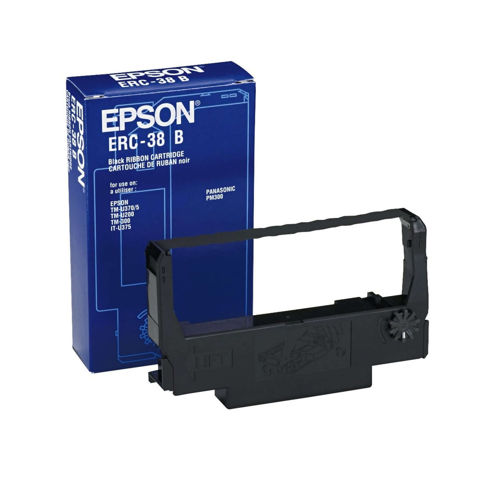 RIBBON ERC-38 B EPSON @ (Available On Order Only)