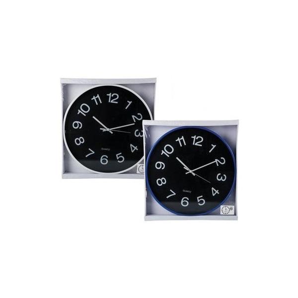 CLOCK WALL ROUND 38CM