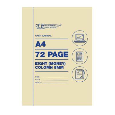 ACC A4 CASH JOURNAL