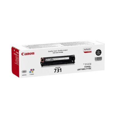 TONER 731 BLACK CANON ORIGINAL @ (Available On Order Only)