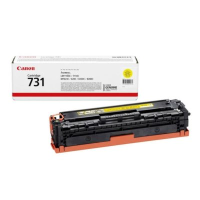 TONER 731 YELLOW CANON ORIGINAL @ (Available On Order Only)