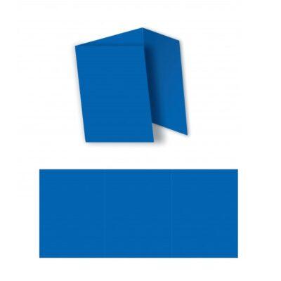 FOLDERS 3 FOLD 160G 10PK BLUE
