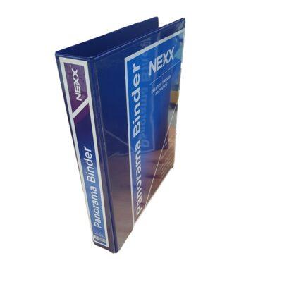 PANORAMA BINDER 2D 25MM BLUE