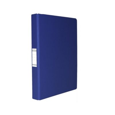 2D RING BINDER POLYPROPYLENE BLUE