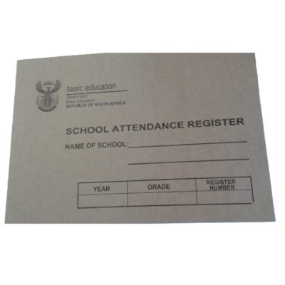 BASIC EDUCATION SCHOOL ATTENDANCE REGISTER