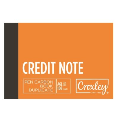 PEN CARBON CREDIT NOTE A6 LANDSCAPE @ (Available On Order Only)