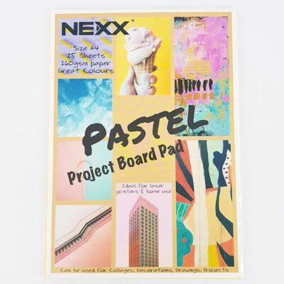 PROJECT BOARD PAD PASTEL 25 SHEETS NEXX
