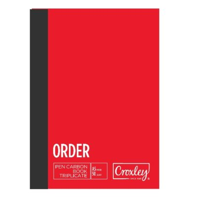 PEN CARBON PURCHASE ORDER TRIPLICATE A5 JD66PS @ (Available On Order Only)