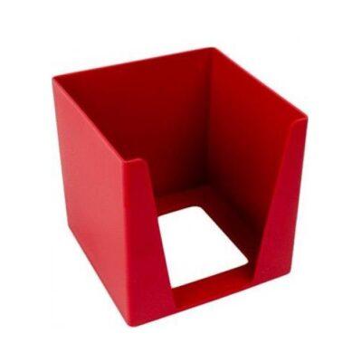 MEMO CUBE HOLDER RED