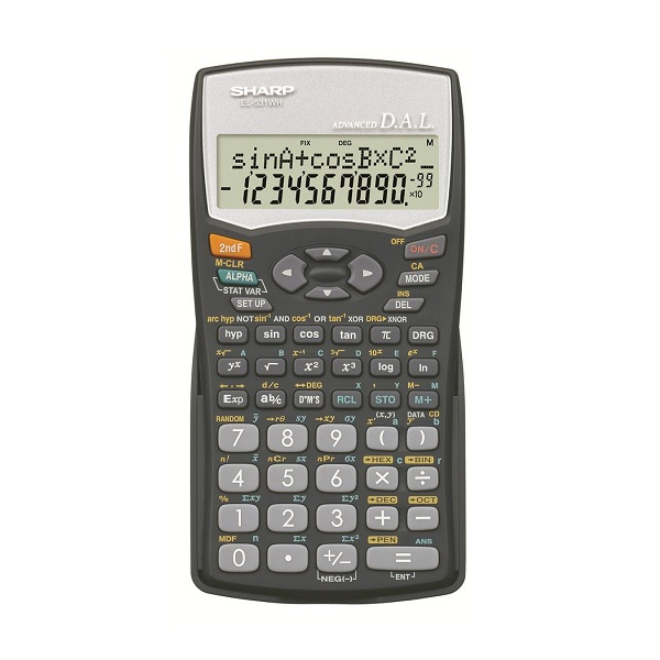 CALCULATOR SHARP EL-531 SCIENTIFIC @ (Available On Order Only)