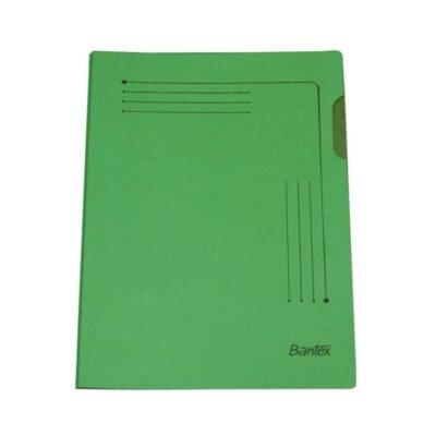 INSERT FOLDER BANTEX A4 10PK GREEN