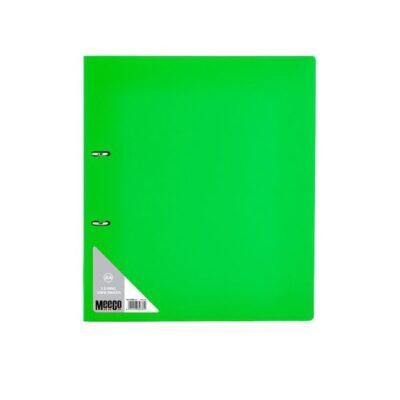 FILE R/BINDER 2D 25MM MEECO GREEN