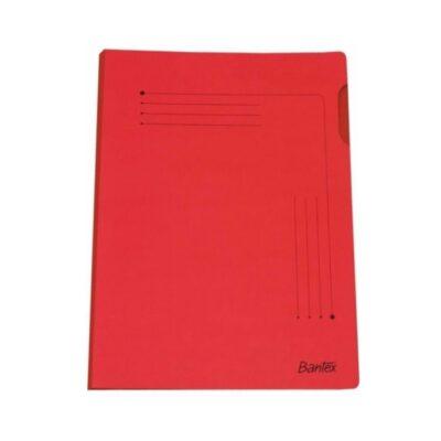 INSERT FOLDER BANTEX A4 10PK RED
