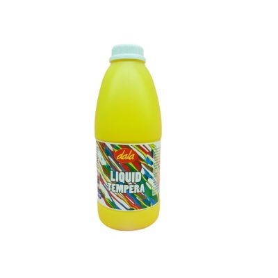 TEMPERA PAINT DALA YELLOW 1L @ (AVAILABLE ON ORDER ONLY)