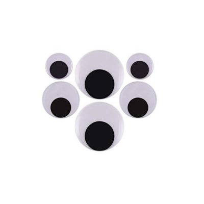 GOOGLY EYES ASSORTED LARGE 6PC
