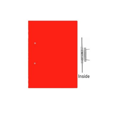 ACCESSIBLE FILES 400GSM BRIGHT RED