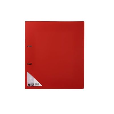 FILE R/BINDER 2D 25MM MEECO RED