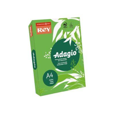 PHOTOCOPY PAPER ADAGIO A4 REAM BRIGHT GREEN